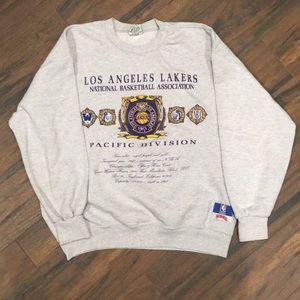 Vintage Lakers Crewneck